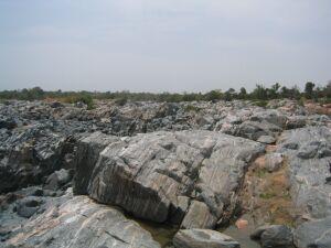 Unmengen Granitfelsen