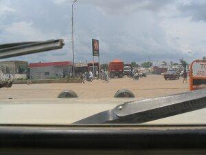 Tankstelle in Garoua