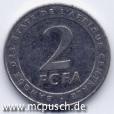 2 F CFA - Zahl