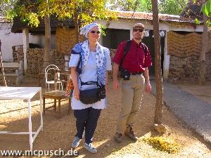 Christel und Martin vor der Bergtour