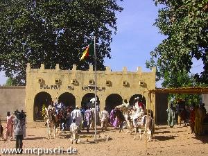 Das Sultanat, der Sitz des Sultans