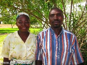 Der Pastor mit seiner Frau